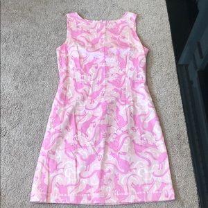 Lilly Pulitzer Kangaroo Easter dress